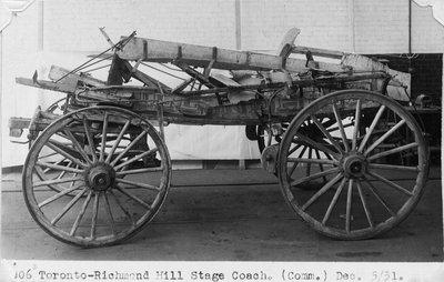 Toronto-Richmond Hill Stage Coach
