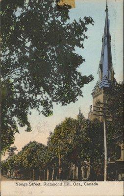 Yonge Street in Richmond Hill
