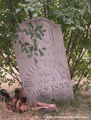 Gravestone of William Trench