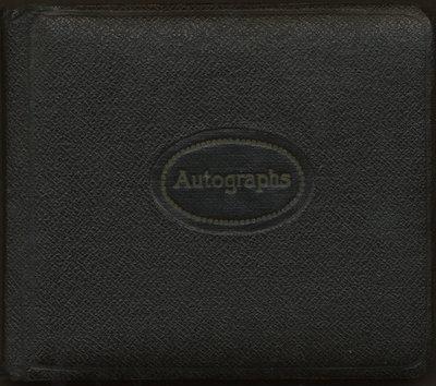 Autograph book of Isobel E. McLean