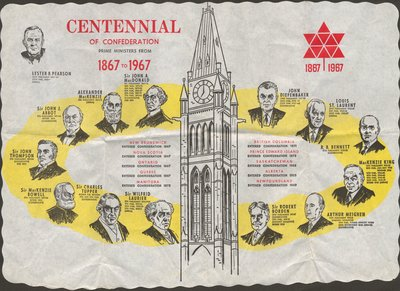 Prime Ministers of Canada from 1867 to 1967