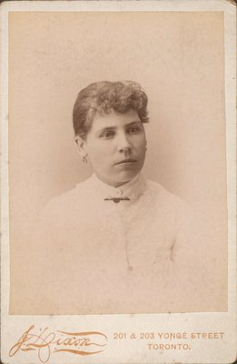 Photograph of a young woman