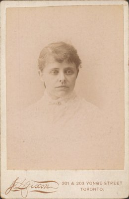 Photograph of unknown young woman