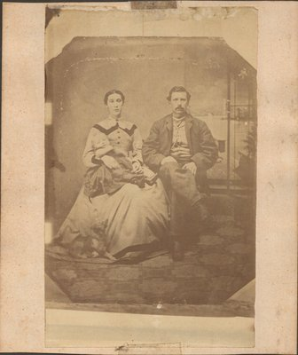Joseph Henry Hall with his wife and his son