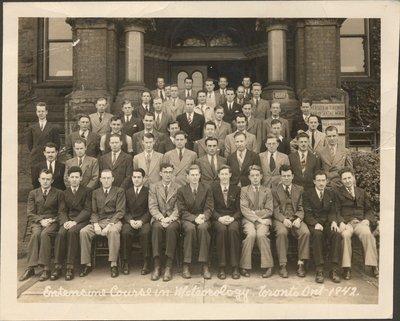 Photograph of University of Toronto students