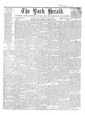York Herald, 7 Oct 1859