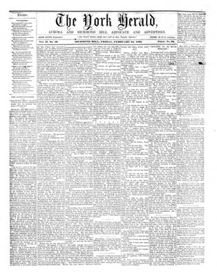 York Herald, 24 Feb 1860