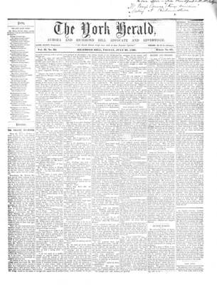 York Herald, 27 Jul 1860