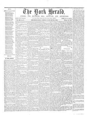 York Herald, 25 Jan 1861