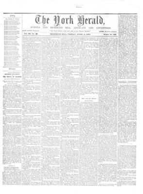 York Herald, 5 Apr 1861