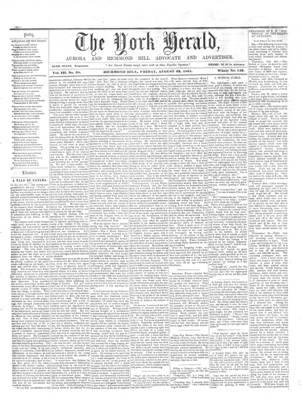 York Herald, 23 Aug 1861