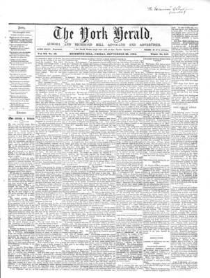 York Herald, 20 Sep 1861