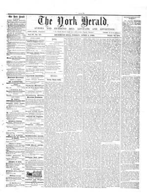 York Herald, 4 Apr 1862