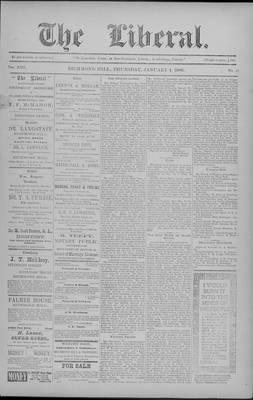 The Liberal, 4 Jan 1900