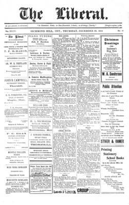 The Liberal, 25 Dec 1913