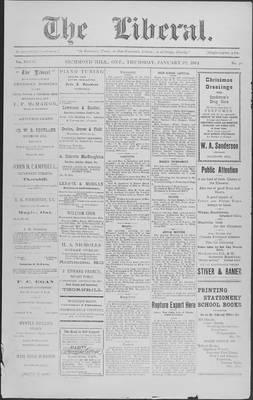 The Liberal, 22 Jan 1914