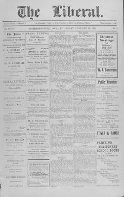 The Liberal, 29 Jan 1914
