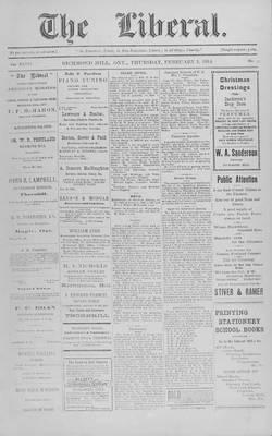 The Liberal, 5 Feb 1914