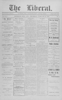 The Liberal, 26 Feb 1914