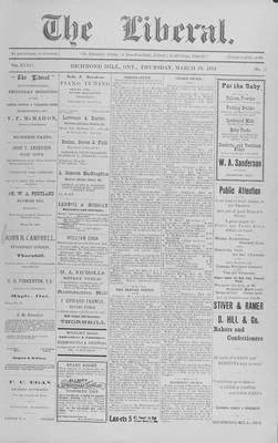 The Liberal, 19 Mar 1914