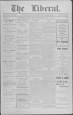 The Liberal, 7 May 1914