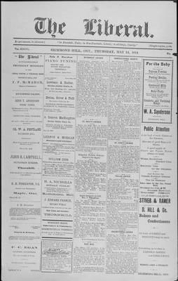 The Liberal, 14 May 1914