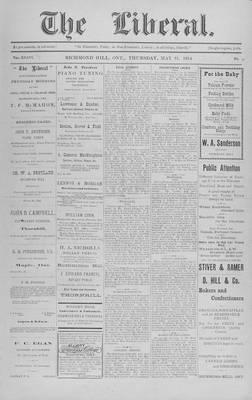 The Liberal, 21 May 1914