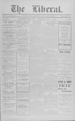 The Liberal, 11 Jun 1914