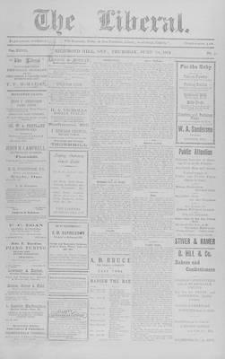 The Liberal, 18 Jun 1914