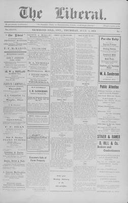 The Liberal, 2 Jul 1914