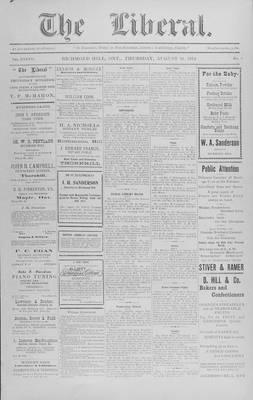 The Liberal, 20 Aug 1914