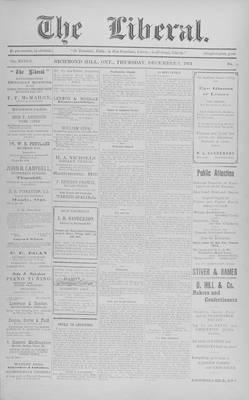 The Liberal, 3 Dec 1914