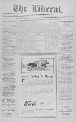 The Liberal, 20 Sep 1917
