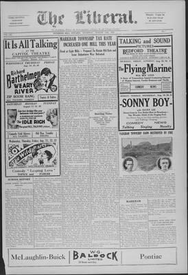 The Liberal, 15 Aug 1929