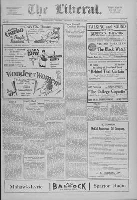 The Liberal, 10 Oct 1929