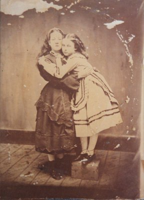 Photograph of two girls