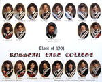 Class of 1991 Rosseau Lake College