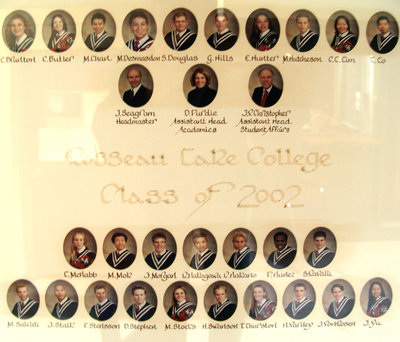 Rosseau Lake College Class of 2002