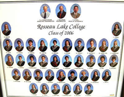 Rosseau Lake College Class of 2006
