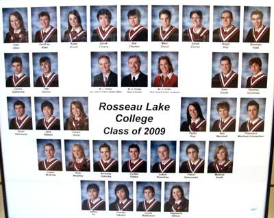Rosseau Lake College Class of 2009