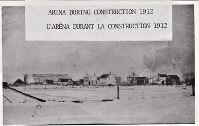 Russell Arena Construction