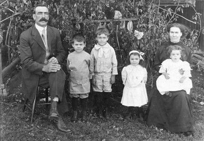Une famille de pionniers