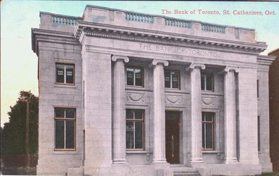 The Bank of Toronto, St. Catharines, Ont.