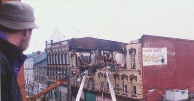 Demolition of Grand Opera House, 47 Ontario Street