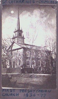 First Presbyterian Church, 1834-77
