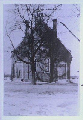 Grantham Methodist Church, c1930