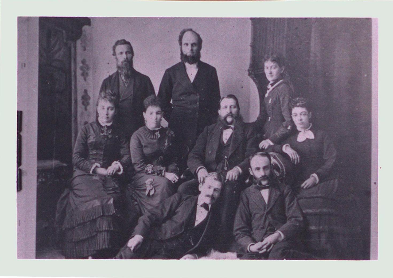Grantham Methodist Sunday School Staff, c1880