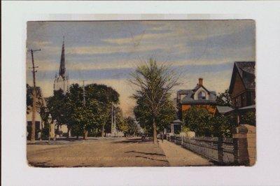 Church Street looking east from Lyman Street