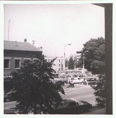 St. Catharines market behind the Court House