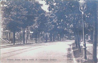 Ontario Street, looking north